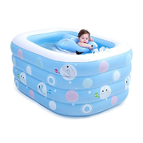 GBYYMX Bañera Hinchable Piscina Inflable Material de PVC Familia niños baño de Barril niños Piscina...