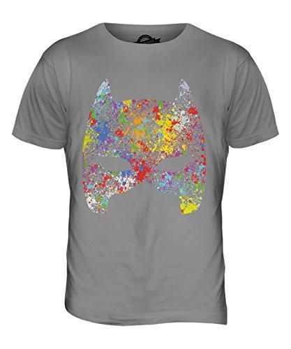 CandyMix Maske Herren T Shirt Hellgrau