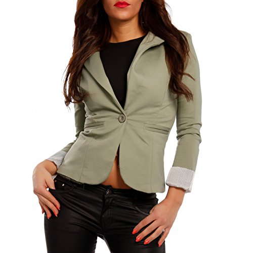Made Italy - Giacca da abito - Camicia - Basic - Maniche lunghe  -  donna cachi