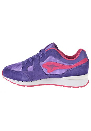 KangaROOS Gemischt, Erwachsene, Damen Sneaker Violett - Violet - violet magenta
