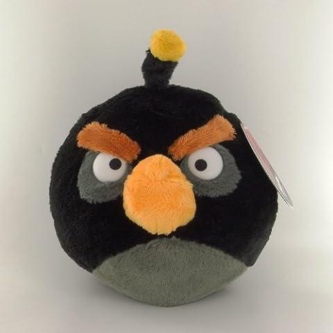 Angry Birds - Peluche Ave Negro 20 cm