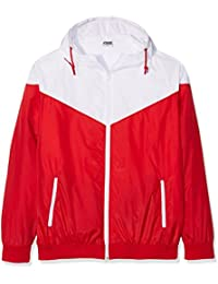 Urban Classics Arrow Windrunner Jacke red-white - XL