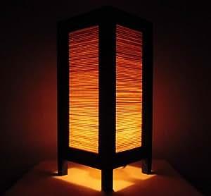Seltene asiatische orientalisch vintage m bel thai handgefertigt buddha stil lampe nachttische - Schlafzimmer buddha ...