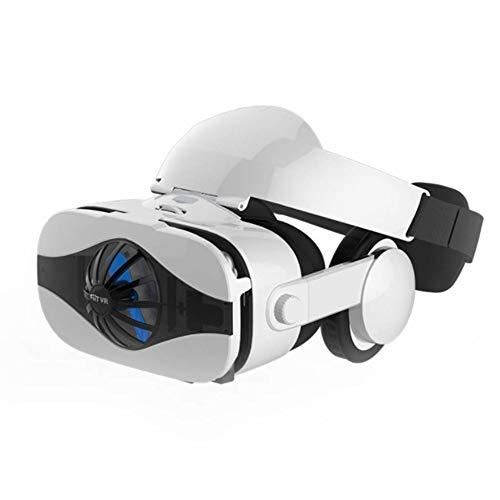TLgf 3D Brillen Virtual Reality Headset, VR-Brille Virtual Reality Game rv Eyes 4d EIN Maschine Kopf-montierter AR Spezialhelm-Fan, geeignet für 4.0-6,33 Zoll Bildschirm - Rv-brille