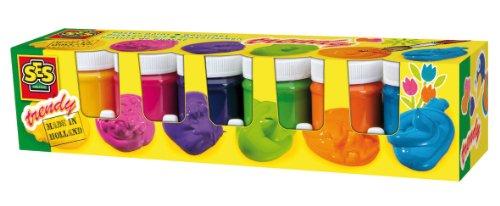 SES 00327 - Plakatfarbe Trendy 6 Farben je 50 ml