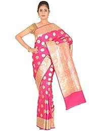 Ashok Silk Art Silk Saree (Ashoksilkexports267_Pink)