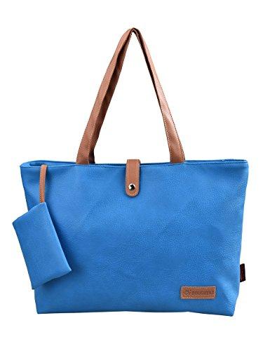 78cb4bcf81 Douguyan Cerniera Shopper Ufficio Tote Bag Borse a Spalla Donna Borsa  Handbag a Spalla in PU