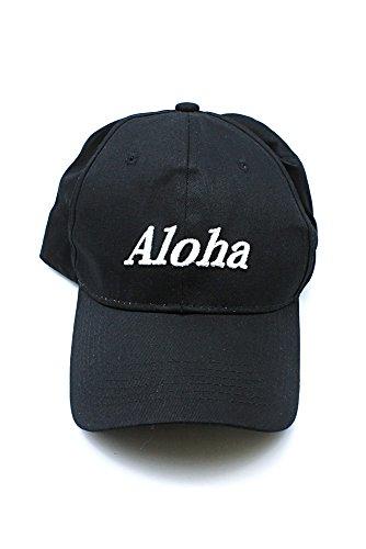 Hawai-SWAG-Aloha-EmbroideR-ojo-sombrero-de-gorro-en-negro