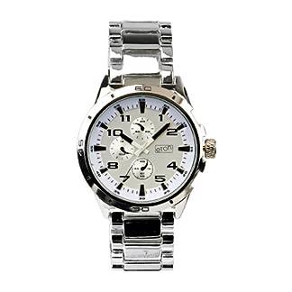 Eton 2990G-WT – Reloj analógico para caballero  blanco