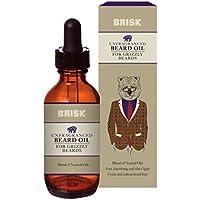 Brisk - Aceite para barba sin fragancia, 50 ml
