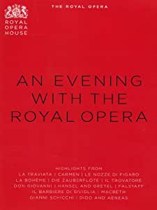 An Evening With The Royal Opera House (Highlights From Royal Opera House) (Various Artists) (Opus Arte: OA1086D) [DVD] [2012] [NTSC]