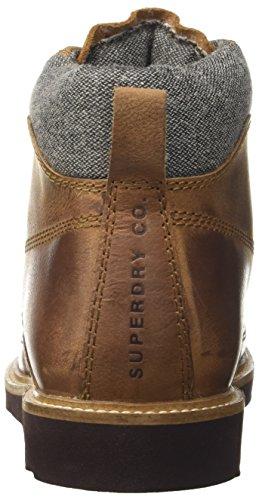 Superdry Herren Everest Mountain Chukka Boots Braun (Distressed Brown)