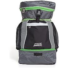 Zoggs Bolsa de natación de triatlón, Adultos Unisex, Negro/Gris/Verde,