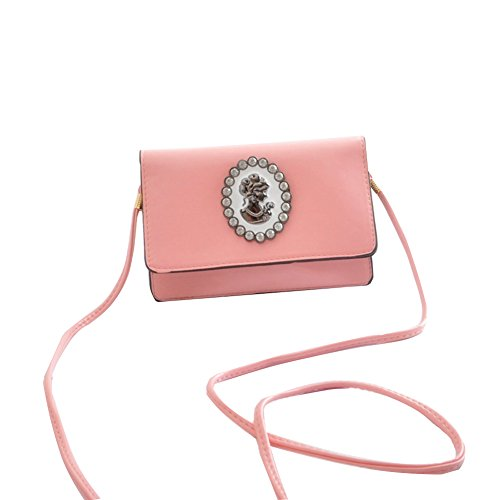 GSPStyle - Borse a spalla donna Rosa (rosa)