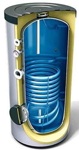 200 L Liter Warmwasserspeicher mit 1 Wärmetauscher, Standspeicher, Elektrospeicher