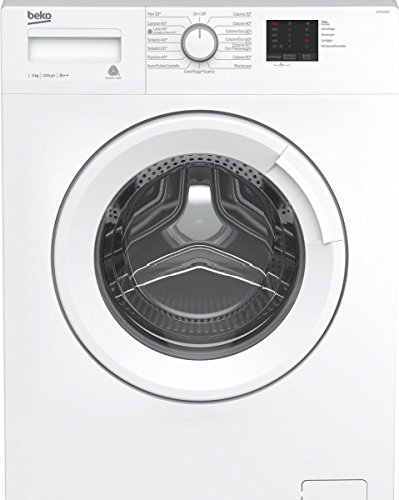 Beko WTX51021W Freestanding Front-load 5kg 1000RPM A++ White washing machine - Washing Machines (Freestanding, Front-load, White, Buttons, Rotary, Left, LED)