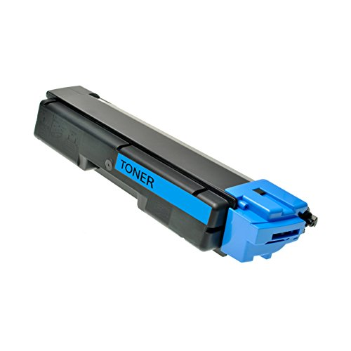 Preisvergleich Produktbild Logic-Seek Toner für Kyocera TK590C 1T02KVCNL0, 5000 Seiten, cyan