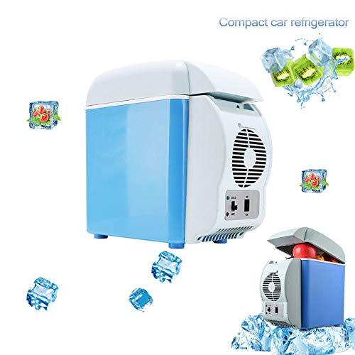 SYANG Nevera Portátil Eléctrica Frio/Calor ,eléctrico Compacto Refrigerador Coche12 V,7.5L de Coche...