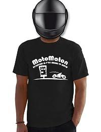 Planète motard - Tee shirt motard Motomaton - T shirt moto - T shirt humoristique