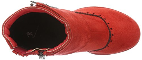 Andrea Conti 3612707, Bottes Classiques femme Rouge - Rot (Rot 021)