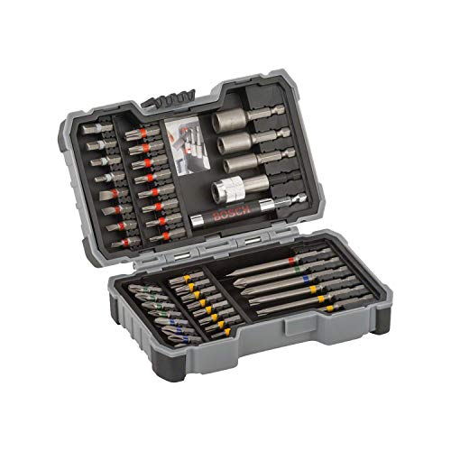 Bosch - Set 43 unidades atornillar llaves vaso Ph,Pz,Sl,H,T,Th