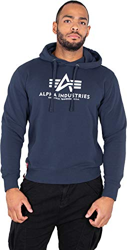 Alpha Industries Basic Felpa New Navy