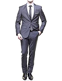 Jean Louis Scherrer - Costume Sch041 Fild Uni Med Grey