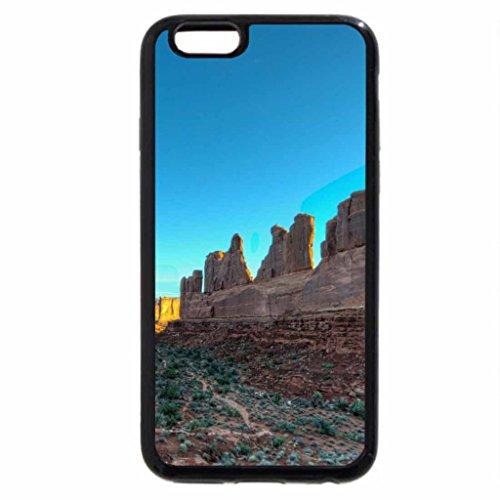 iPhone 3S/iPhone 6Coque (Noir) Arches National Park