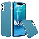 Peakally Funda iPhone 11, Carcasa Espacio Azul TPU Suave Funda para iPhone 11 Funda Flexible Ligero Fundas [Resistente a arañazos] [Ultrafina Delgado]-Espacio Azul