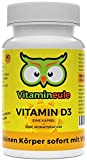 Vitamin D3 Kapseln (Cholecalciferol) - hochdosiert & vegan - 30.000 i.E. - ohne künstliche...