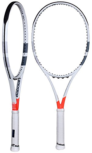 Babolat Pure Strike 100 Unstrung Raquetas de Tenis, Hombre, Blanco/Rojo, 2