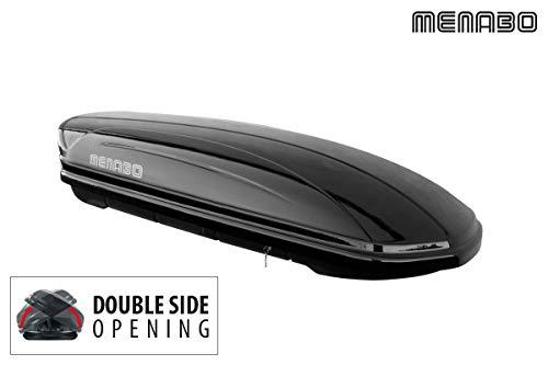 Menabo Dachbox Mania 460 Duo silber - 460 Liter