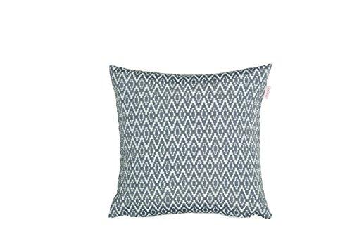 Esprit Home Pixel Zierkissenhülle, Stoff, grau, 38 x 38 cm
