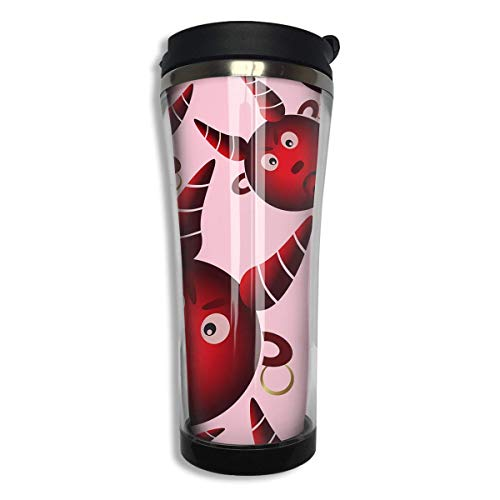 Red Evil Devil from Hell 14 Oz Tumbler-Vacuum Insulated Double Stainless Steel Water Bottle Travel Coffee Mug Cup