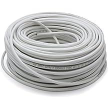 Vultech SC13102-100 100m Cat5e F/UTP (FTP) Gris - Cable de red (100 m, Cat5e, F/UTP (FTP), 10/100/1000Base-T(X), Gris, 100 Ω)