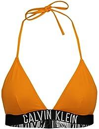 Calvin Klein Damen Bikinioberteil Fixed Triangle-Rp