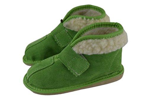 Natleat Slippers , Jungen Hausschuhe Grün