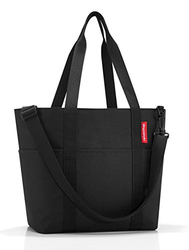Reisenthel MZ7003Polyester Shopping Bag 50x 30x 20cm all parts included (Black)