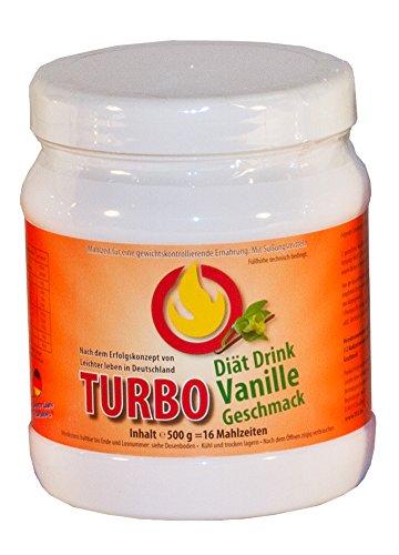 Leichter leben Turbo Vanillegeschmack Mahlzeitenersatz -