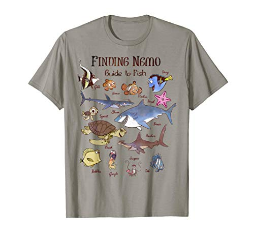 Disney Pixar Finding Nemo Fish Guide Graphic T-Shirt - Tshirt Inc Monsters Sulley