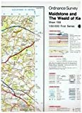 Ordnance Survey Map Sheet 188 Maidstone and The Weald of Kent