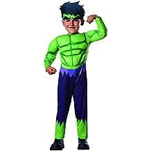 Disfraz Hulk Deluxe Inf (Rubies 620016-T)