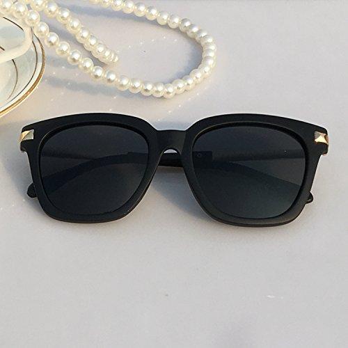 lxkmtyj il stile classico di occhiali da sole Uomini Occhiali da sole di tendenza Vintage Specchio conducente, movimento dell' acqua blu Silver