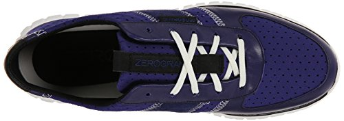 Cole Haan Zerogrand Fashion Sneaker Bristol Blue Perforated Neoprene/Astral Blue/Black