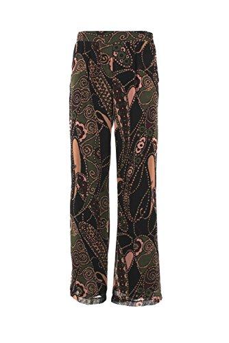 Pantalone Donna Kaos Collezioni 42 Nero Fi1eg093 Autunno Inverno 2015/16