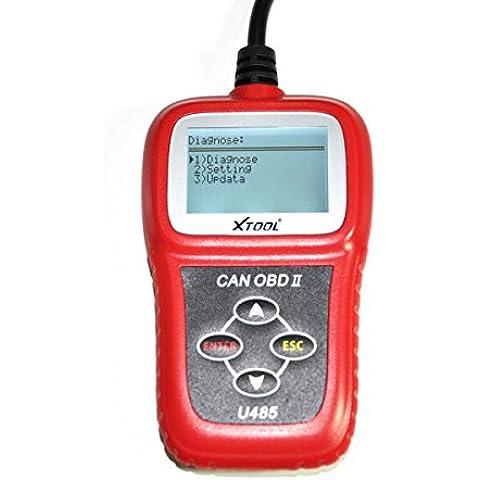 Scanner diagnostico EOBD OBD2 U485Can, adatto per auto di marche diverse, U485