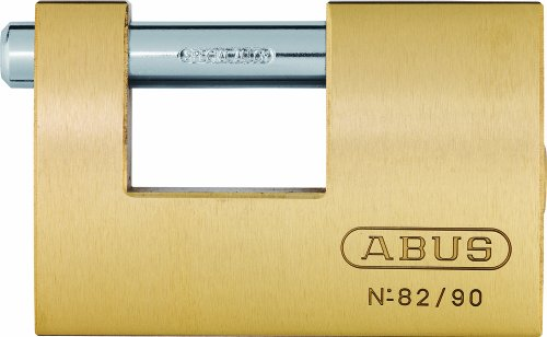 Abus 82/90 KA8521 - Candado rectangular latón 90mm
