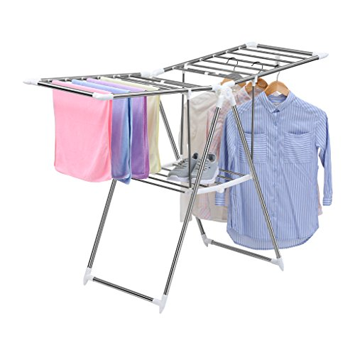 finether-heavy-duty-foldable-indoor-outdoor-gullwing-drying-rack-adjustable-space-saving-clothes-han