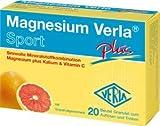 Magnesium Verla Sport Plus Aktiv-Set 2x50Beutel. Sinnvolle Mineralstoffkombination Magnesium plus Kalium & Vitamin C