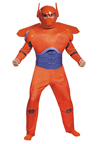 Disguise Adult Plus Size Red Baymax Deluxe Fancy Dress Costume 2X-Large